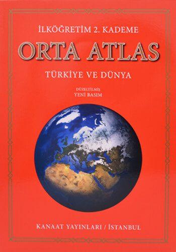 İlköğretim 2. Kademe Orta Atlas Türkiye ve Dünya