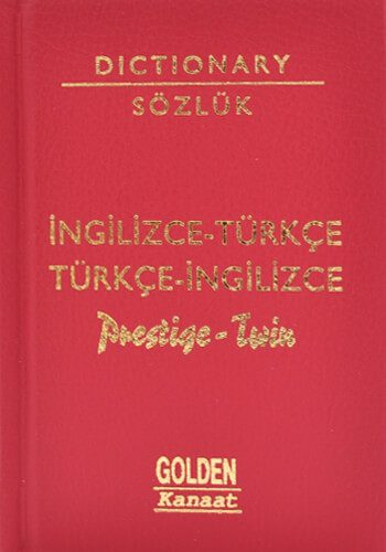 Prestige Twin İngilizce Türkçe Sözlük